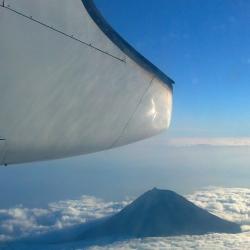 Anflug auf die Azoren